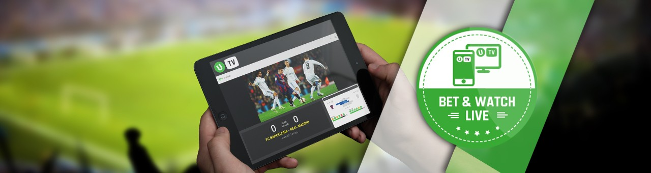 Streaming en live weddenschappen Unibet