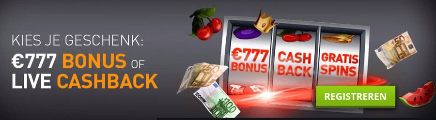 Casino777 review Welkomstbonus