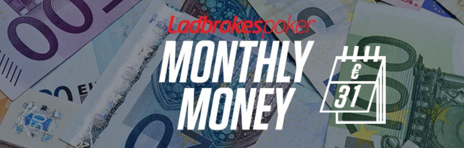 "Offre ""Monthly Money de Ladbrokes"""